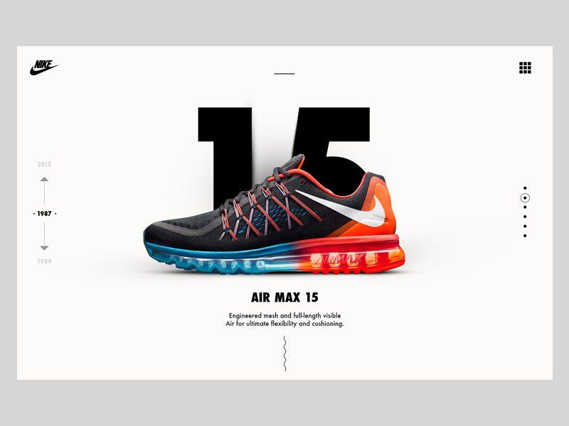 Transparentemente ocio límite  Nike Air Max Case Study   Shoes web, Nike air max, Web design inspiration