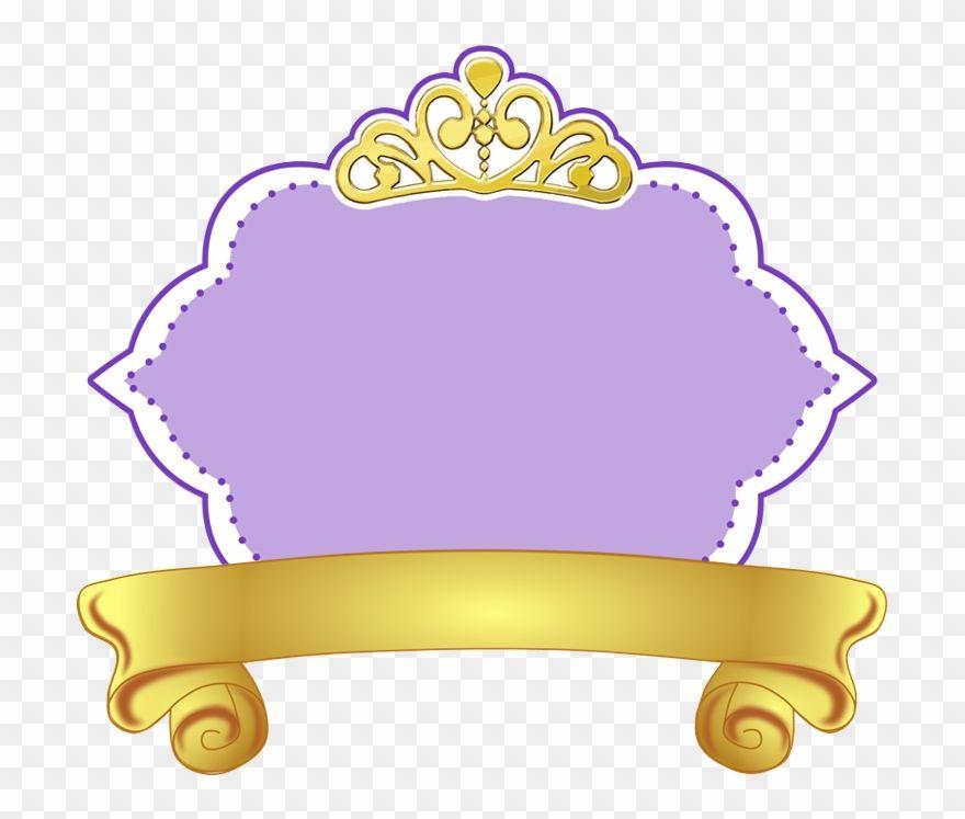 Download Hd Corus Entertainment Disney Sofia Logo Logo Princesa Sofia Png Cli Princess Sofia The First Sofia The First Birthday Party Avengers Theme Birthday