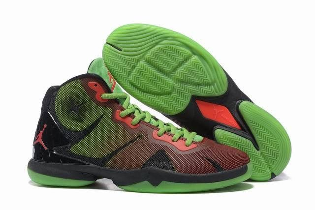 competitive price 8063b cd4bf Men s Nike Air Jordan Super Fly 4 Blake Griffin Green Red Black