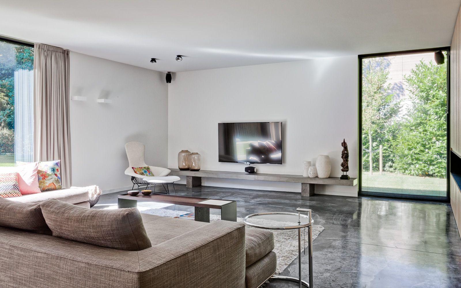 Moderne Traditionele Woonkamer : Metamorfose traditionele woning villas pinterest woonkamer