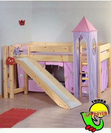 Bunk Beds With Slidebunk Beds Thuka Maxi 12 Cabin Bunk Bed With Slide Tents Rxhohjfu Princess Loft Bed Kids Bed With Slide Princess Bunk Beds