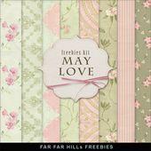 Far Far Hill  Kostenlose Datenbank digitaler Illustrationen und Papiere New Freebies K