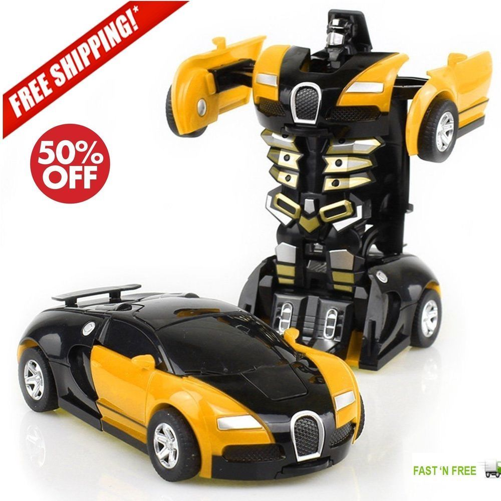 Car toys for 7 year olds  Toys For Boys Robot Car Kids Toddler Robot        Year Old
