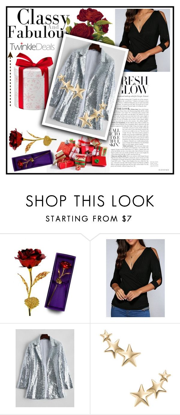 """Twinkledeals 11"" by pamelica ❤ liked on Polyvore featuring Kenneth Jay Lane"