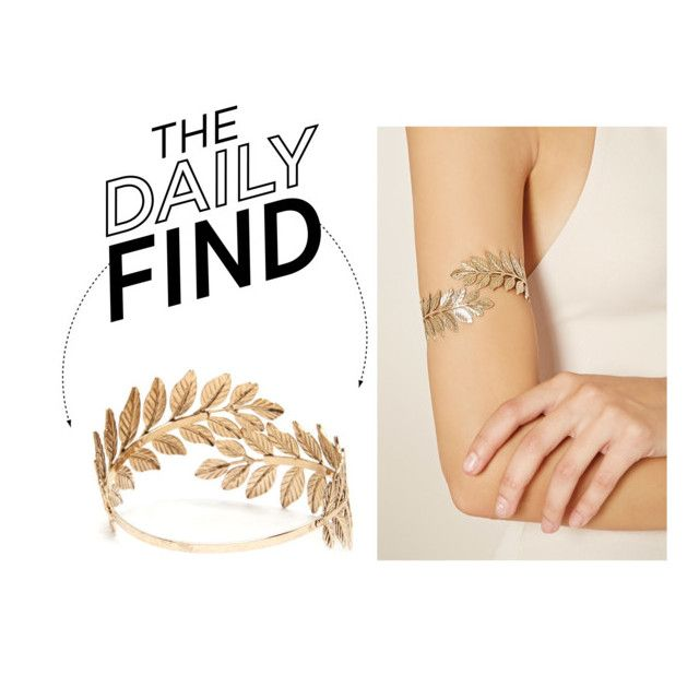 """The Daily Find: Forever 21 Arm Bracelet"" by polyvore-editorial ❤ liked on Polyvore featuring Forever 21 and DailyFind"