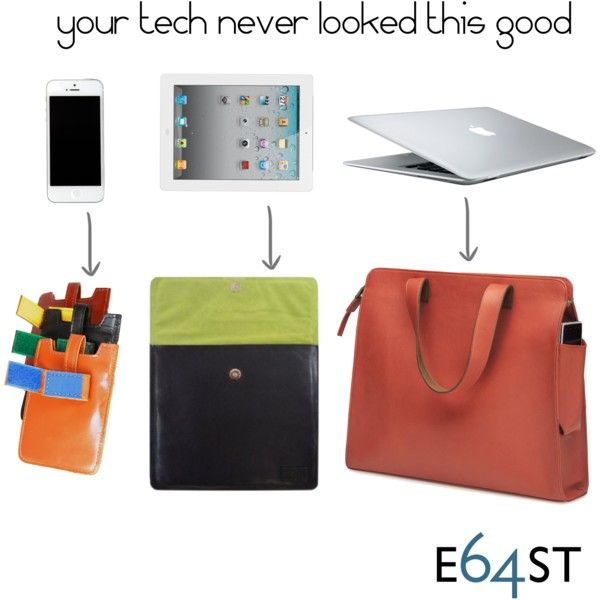 Carry your life with style! Premium leather coupled with supple suede keep your gadgets safe and looking good. www.e64st.com #leathertechcase #highstyle