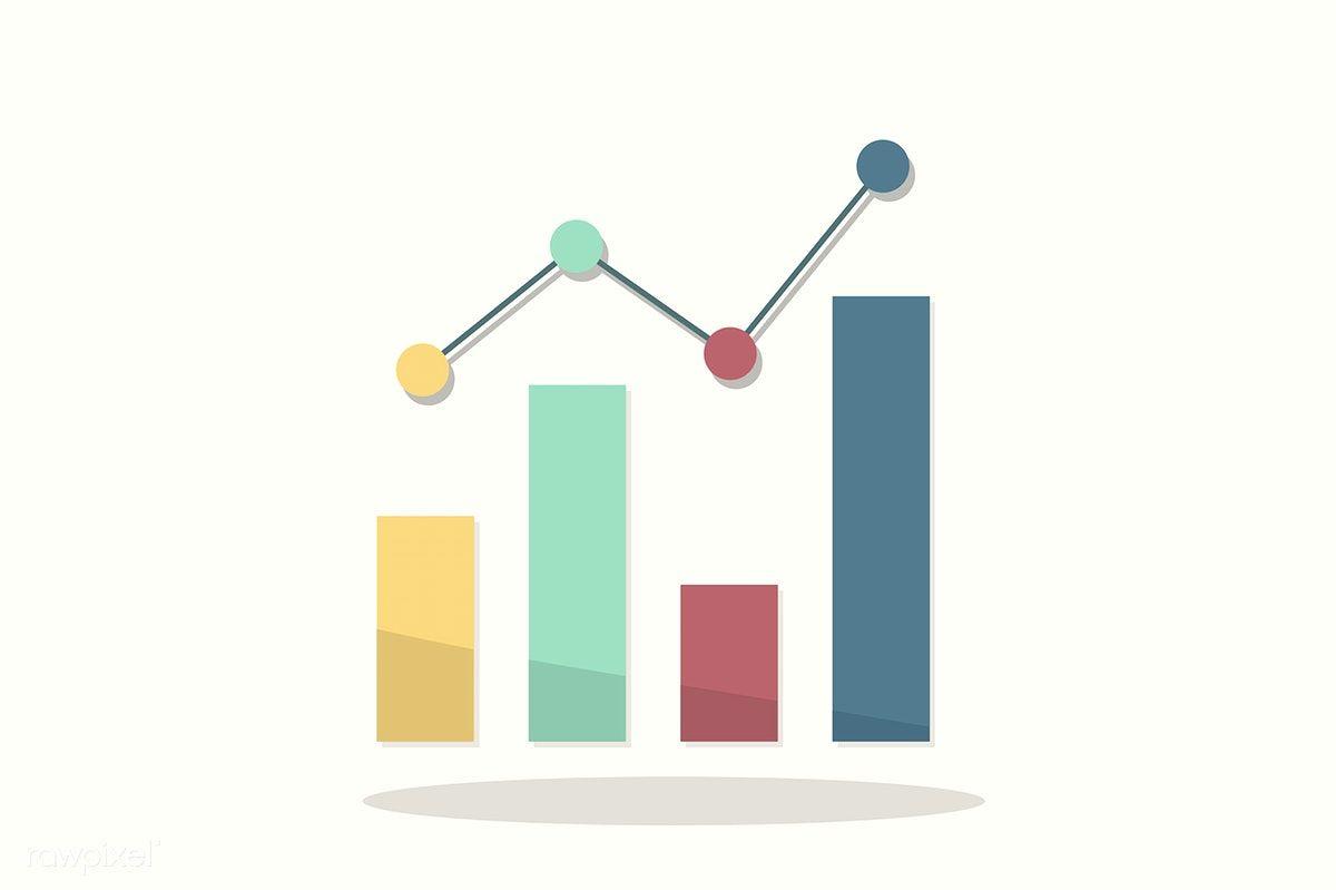 Illustration Of Statistics Icon Free Image By Rawpixel Com