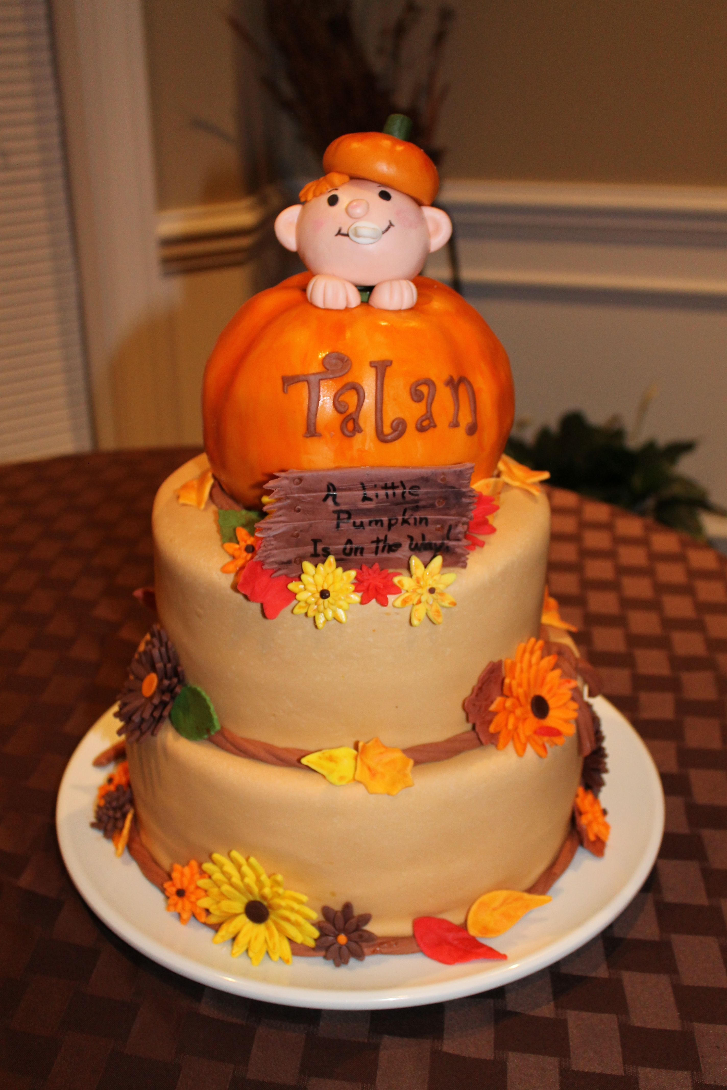 November Baby Shower Pumpkin Theme Coed Shower Pinterest