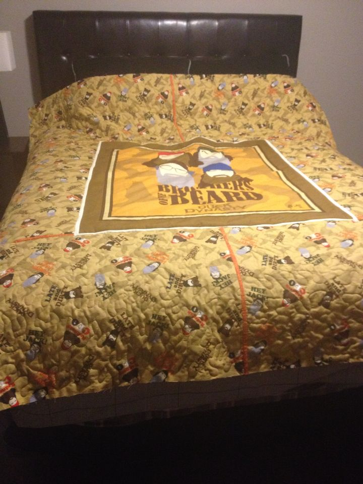 Duck Dynasty Quilt!