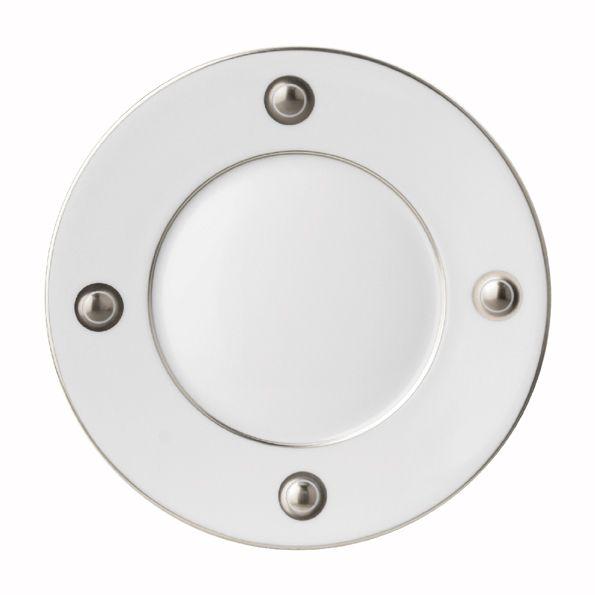 """Ithaque Platinum"" dinner plate by Bernardaud"