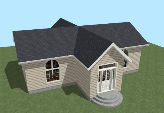 cross gable they have 2 or more gable rooflines that intersect a rh pinterest com