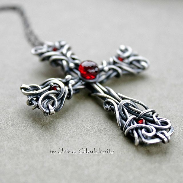 Sterling SIlver Cross by Taniri