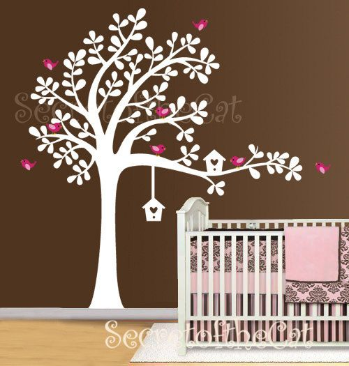 Vinyl tree wall decals for nursery spice seeming walls it is possible to have attractive walls without hassles thanks t