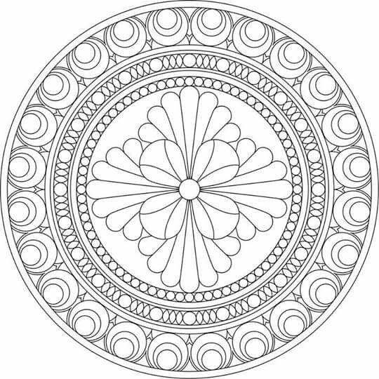 Imagem Da Net çini Mandala Coloring Mandala Coloring Pages Ve
