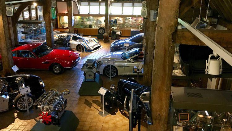 Aston Martin Heritage Trust Photo Gallery Parkplatz Park