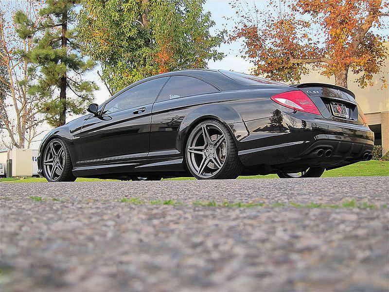 Mercedes Benz Cl63 Amg On Dpe Mt5 Monoblock Car Wheels Used