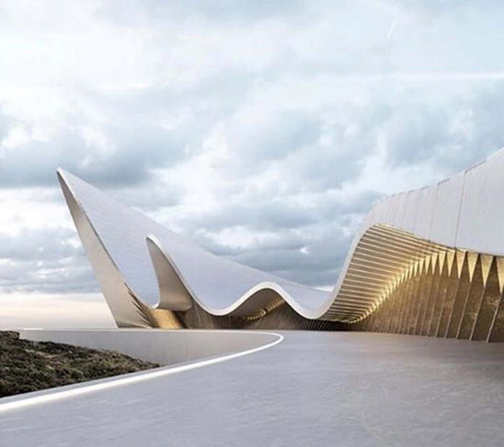 UCCA Dune Art Museum: Unique Architecture of Art Museum underneath the Dunes