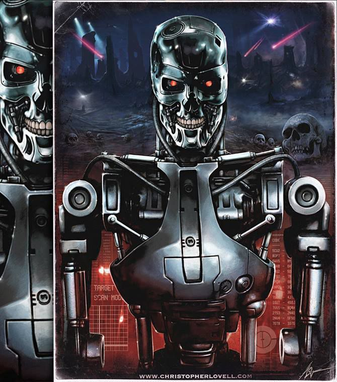 Terminator T 800 Christopher Lovell With Images Terminator
