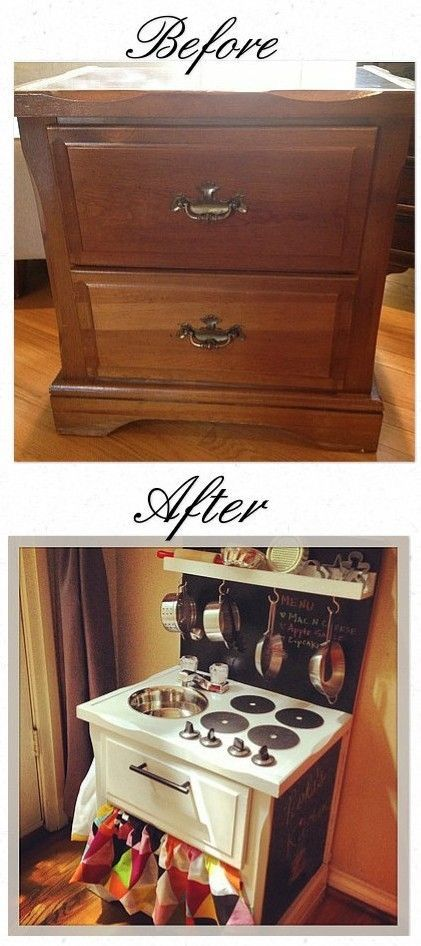 love this so much better than the one we paid so much for diy pinterest kinderk che. Black Bedroom Furniture Sets. Home Design Ideas