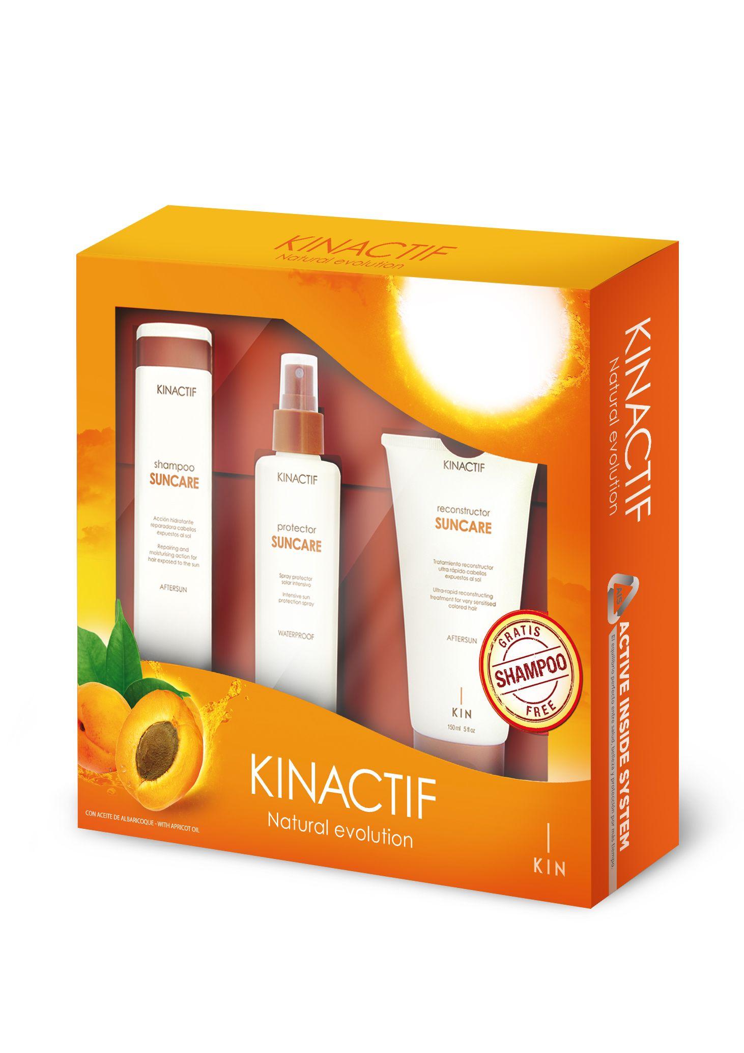 Kin Cosmetics suncare pack