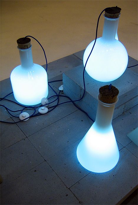 Labware lamps by benjamin hubert. I must know how to do this!