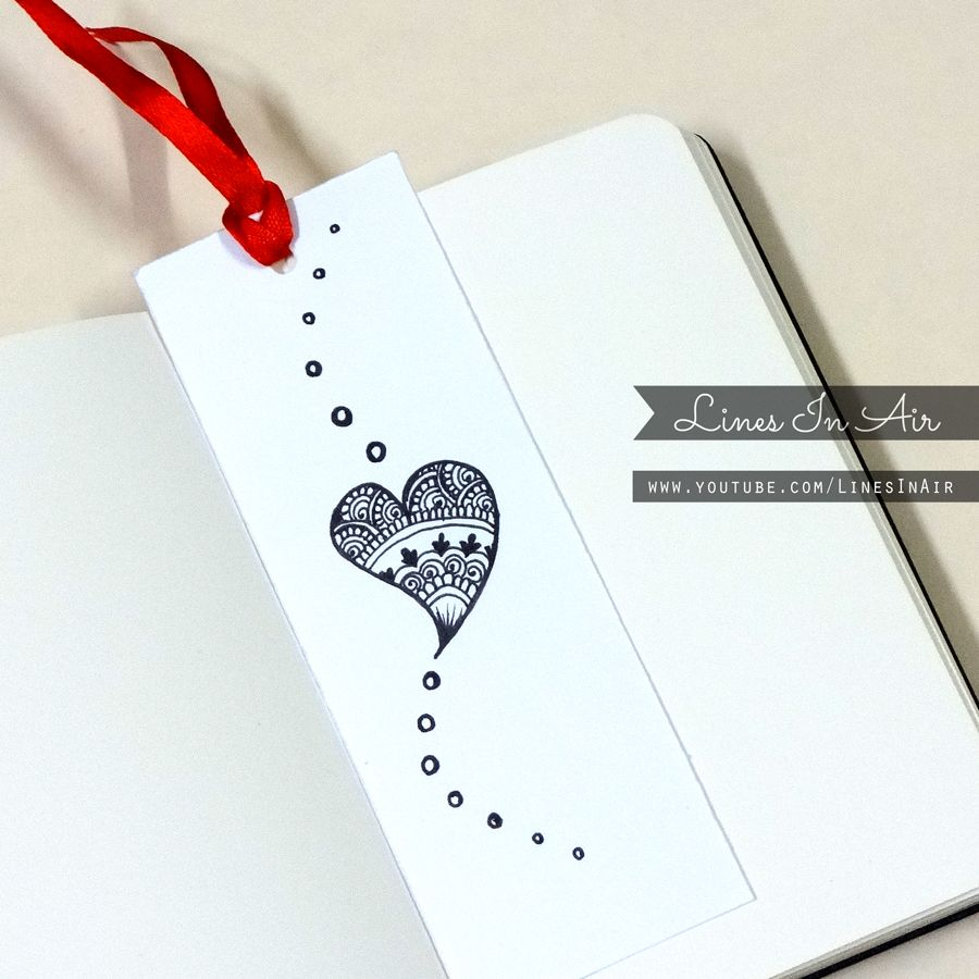 Doodle bookmark by on for Simple bookmarks