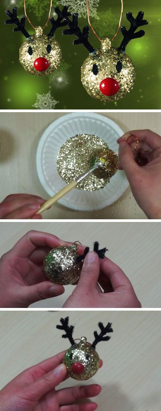 2020 2 Year Old Christmas Ornament  Instructions: Crafts with 2 year old children for Christmas
