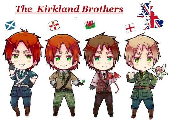 The Kirkland Brothers: Scotland, Ireland, Wales, and England  HOLY