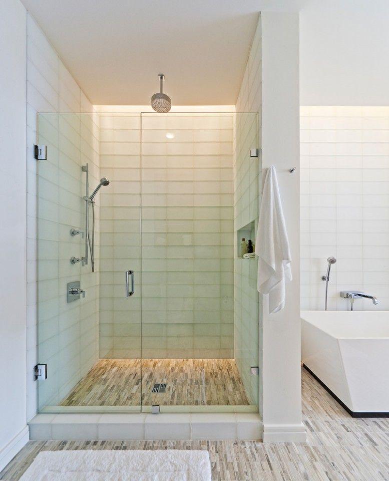 Bathroom Shower Lighting Ideas Modern