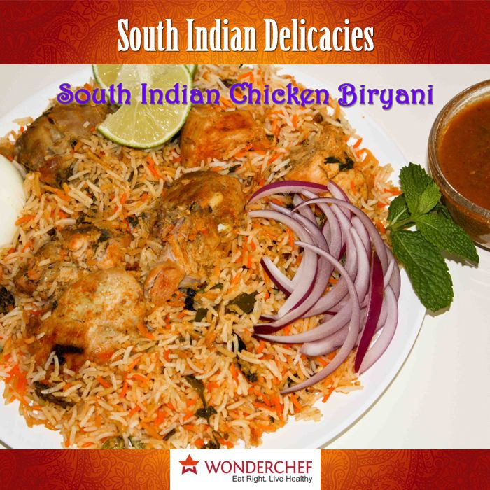 South india delicacies chicken rice cooked in flavors of south south india delicacies chicken rice cooked in flavors of south india by chef sanjeev kapoor forumfinder Gallery