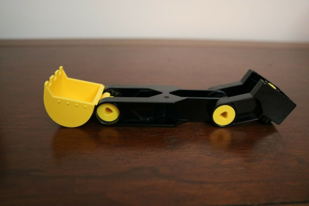 Lego Duplo Shovel Yellow Bucket Backhoe Construction Arm Section