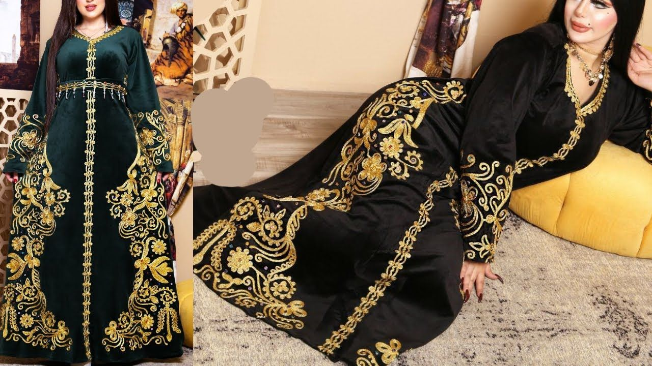 شوفى اجمل موديلات جلابيات شتاء 2021 جلابية قطيفة شتوى Fashion Kimono Top Women