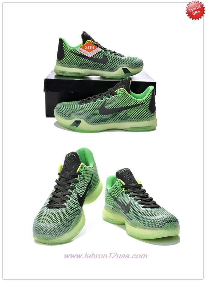 sale retailer 4ff4e 3f364 Discount Shoes Online Poison Green Sequoia-Squadron Green-Volt NIKE KOBE 10