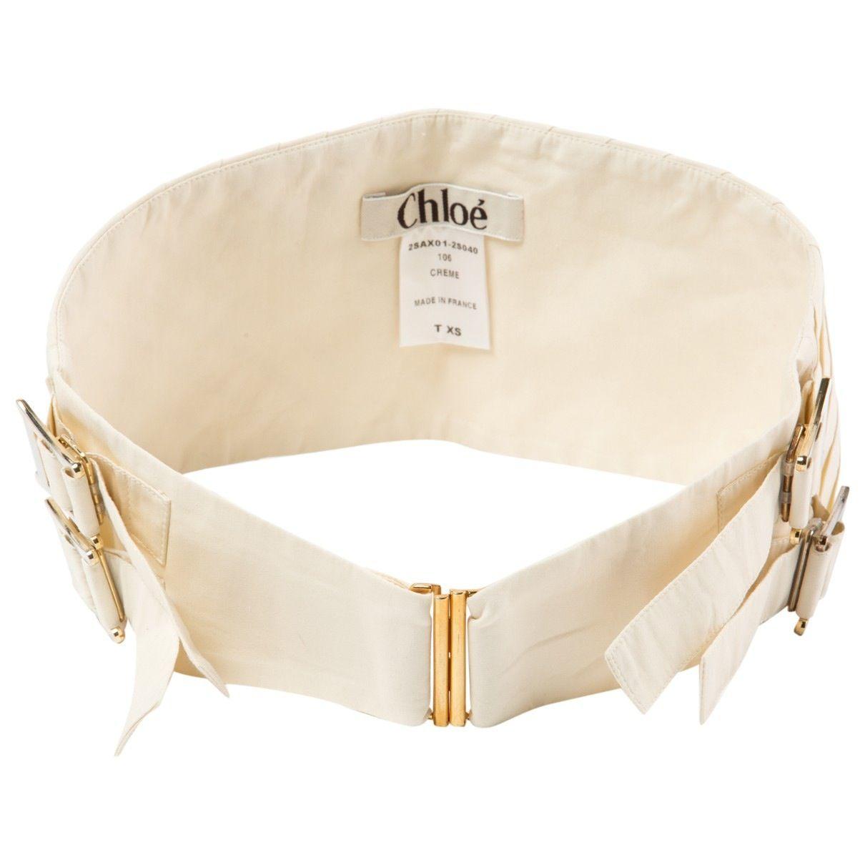 CHLOÉ Canvas belt in 2020 Women accessories, Chloe, Belt