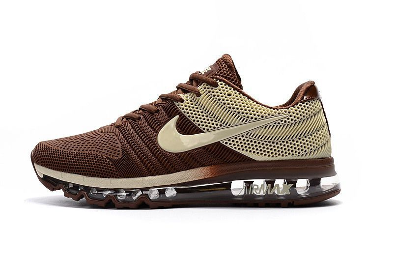 Nike Air Max 2017 Men Brown Beige Nike Air Max Running Running Shoes For Men Nike Air Max
