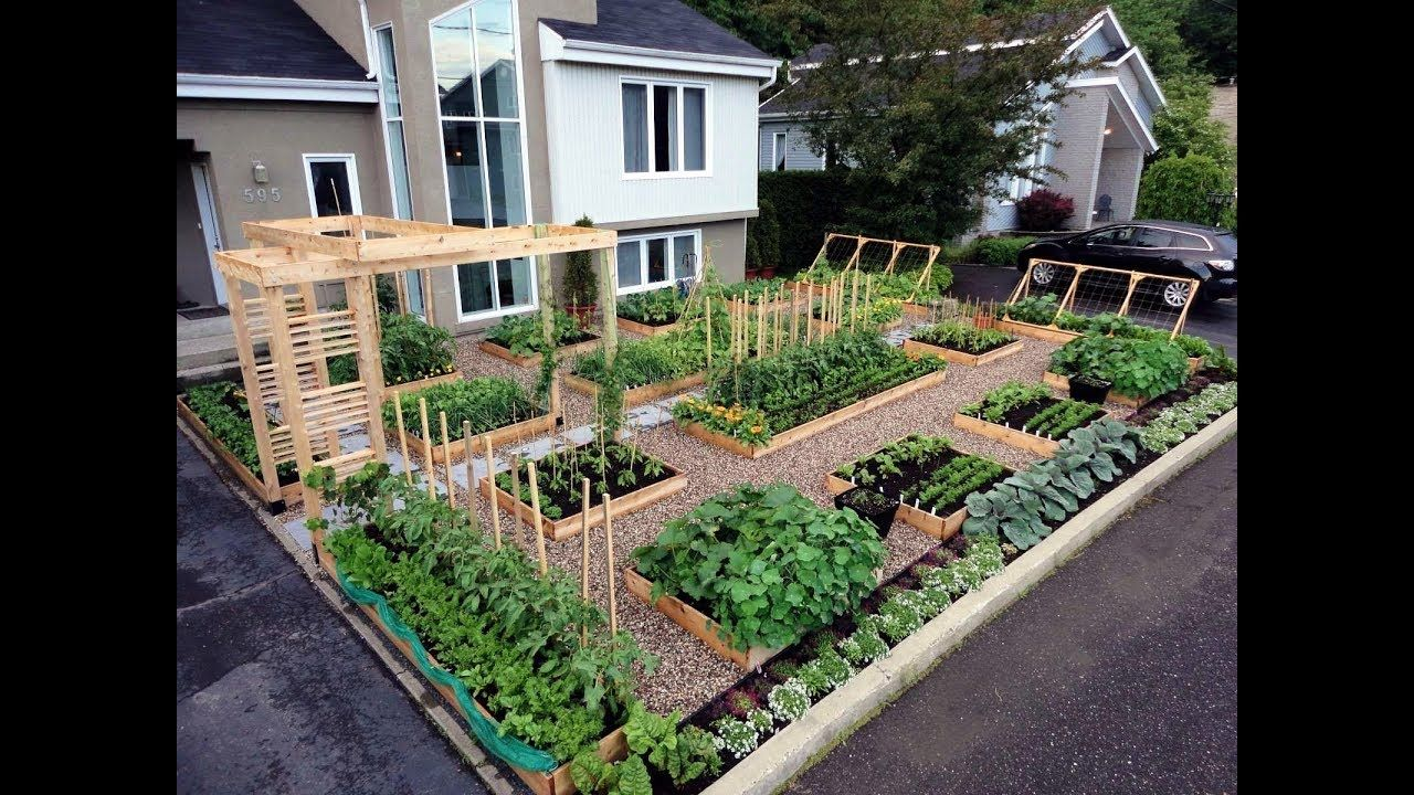 gardening ideas - raised garden beds designs ideas - YouTube