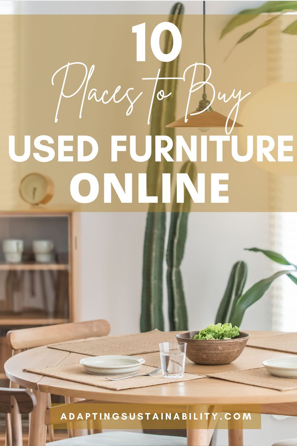 The Best 10 Places To Buy Used Furniture Online Adapting Sustainability In 2021 Buy Used Furniture Upcycled Home Decor Diy Kitchen Decor