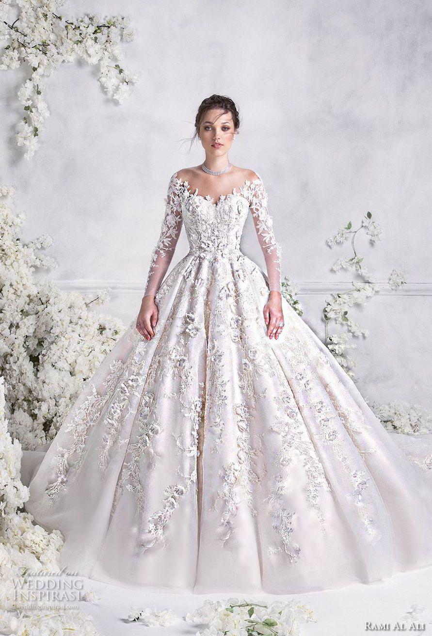Rami Al Ali 2018 Wedding Dresses   Bodas, Hochzeit   Pinterest ...