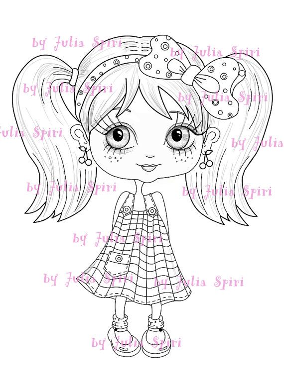 Digital Stamps INSTANT DOWNLOAD Digi Stamp Childrens