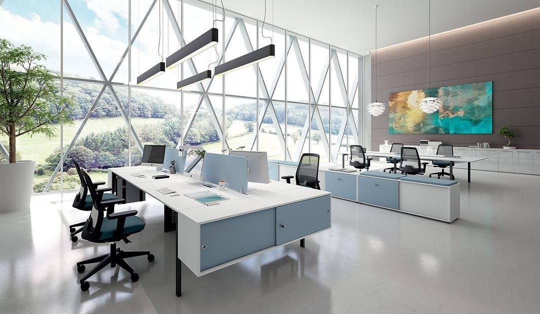 17 Magnificent Ideas For High Tech Office Design For