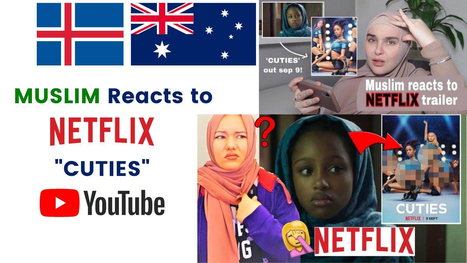 MUSLIM REACTS TO NETFLIX CUTIES TRAILER! | Samantha J Boyle 🇦🇺 | Anna B 🇮🇸
