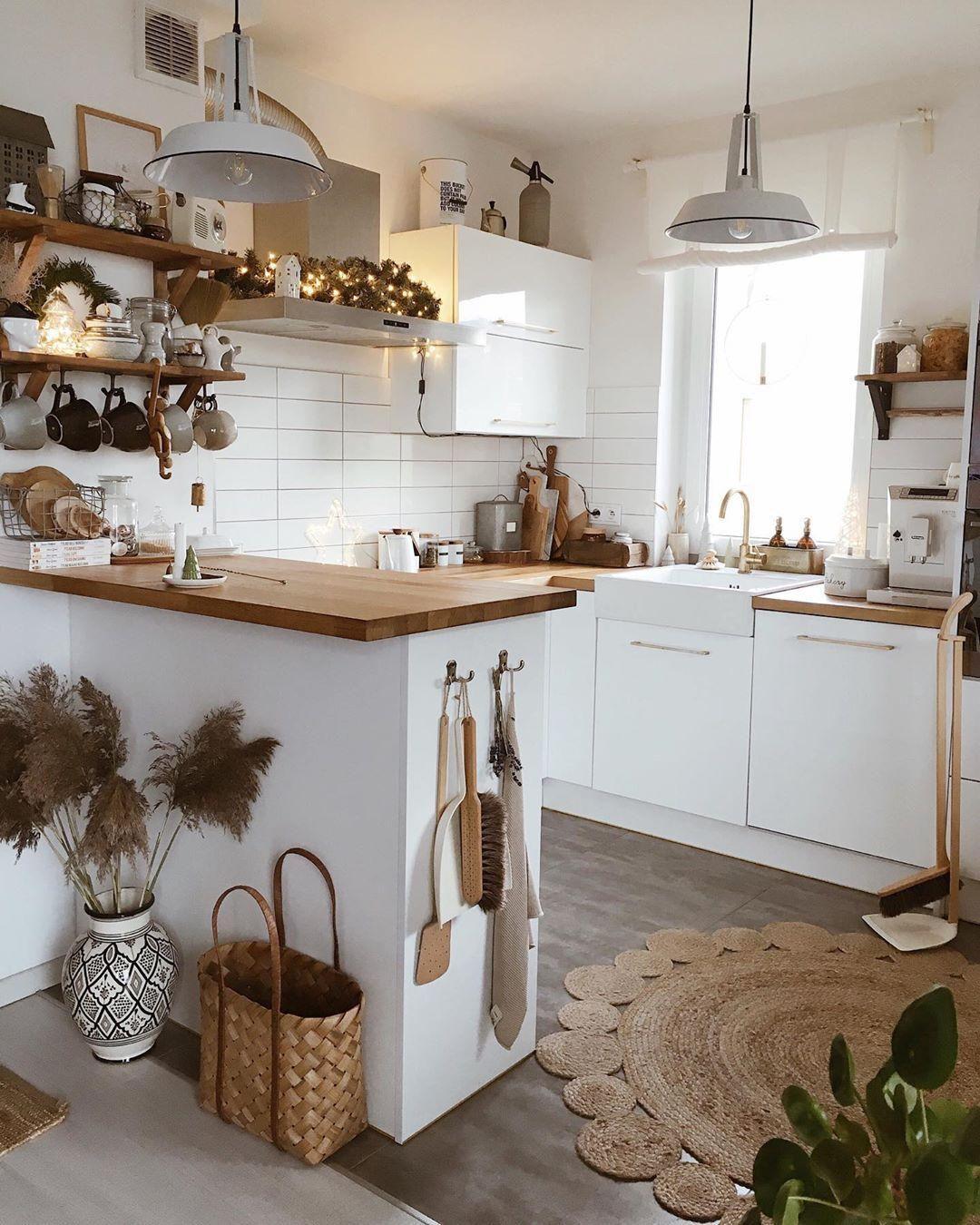 18 Idées Déco pour Cuisine Scandinave en 18  Idée déco cuisine