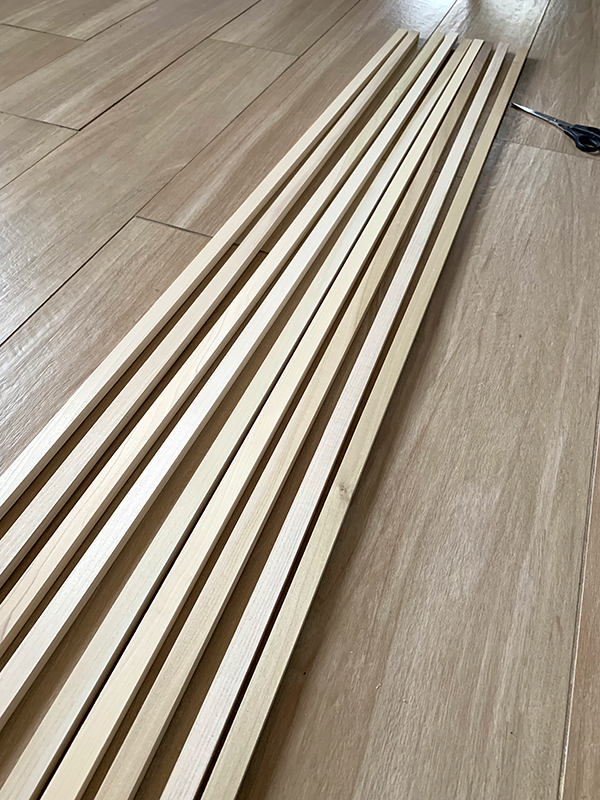 DIY Wood Slat Walls | brepurposed