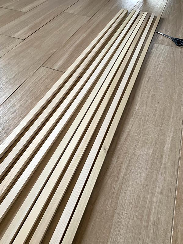 DIY Wood Slat Walls