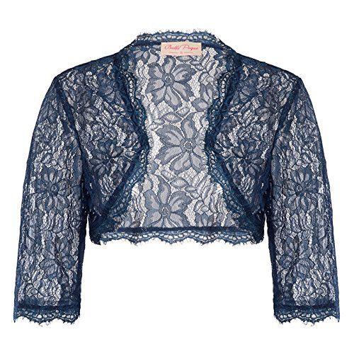 JS Fashion Vintage Dress Belle Poque Women s Long Sleeve Floral Lace Shrug  Bolero Cardigan JS49 682cba6d9