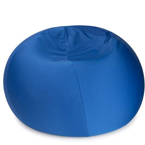 Terrific Dash Sensations Blue Bean Bag Chair For Kids With Removable Inzonedesignstudio Interior Chair Design Inzonedesignstudiocom