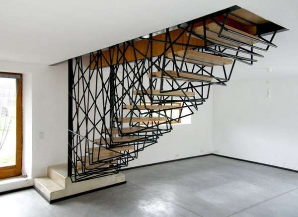 Cellular Spiral Staircases Staircase Design Modern Stairs