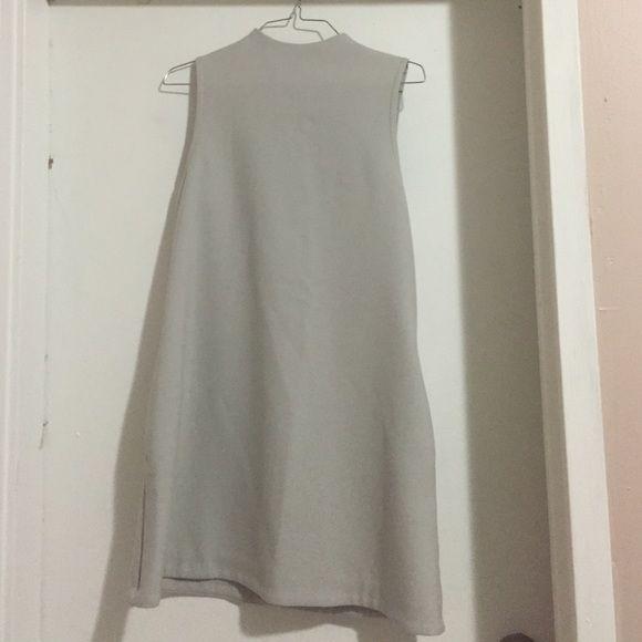 dress gray dress Topshop Dresses