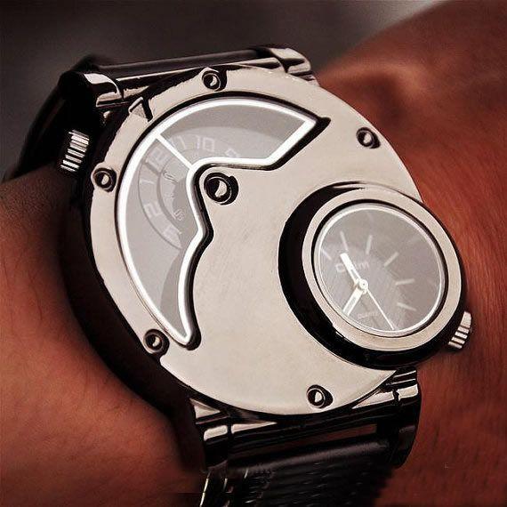 mens watch steampunk wrist mechanical watch anniversary gifts mens watch steampunk wrist mechanical watch anniversary gifts for men wat0066 black