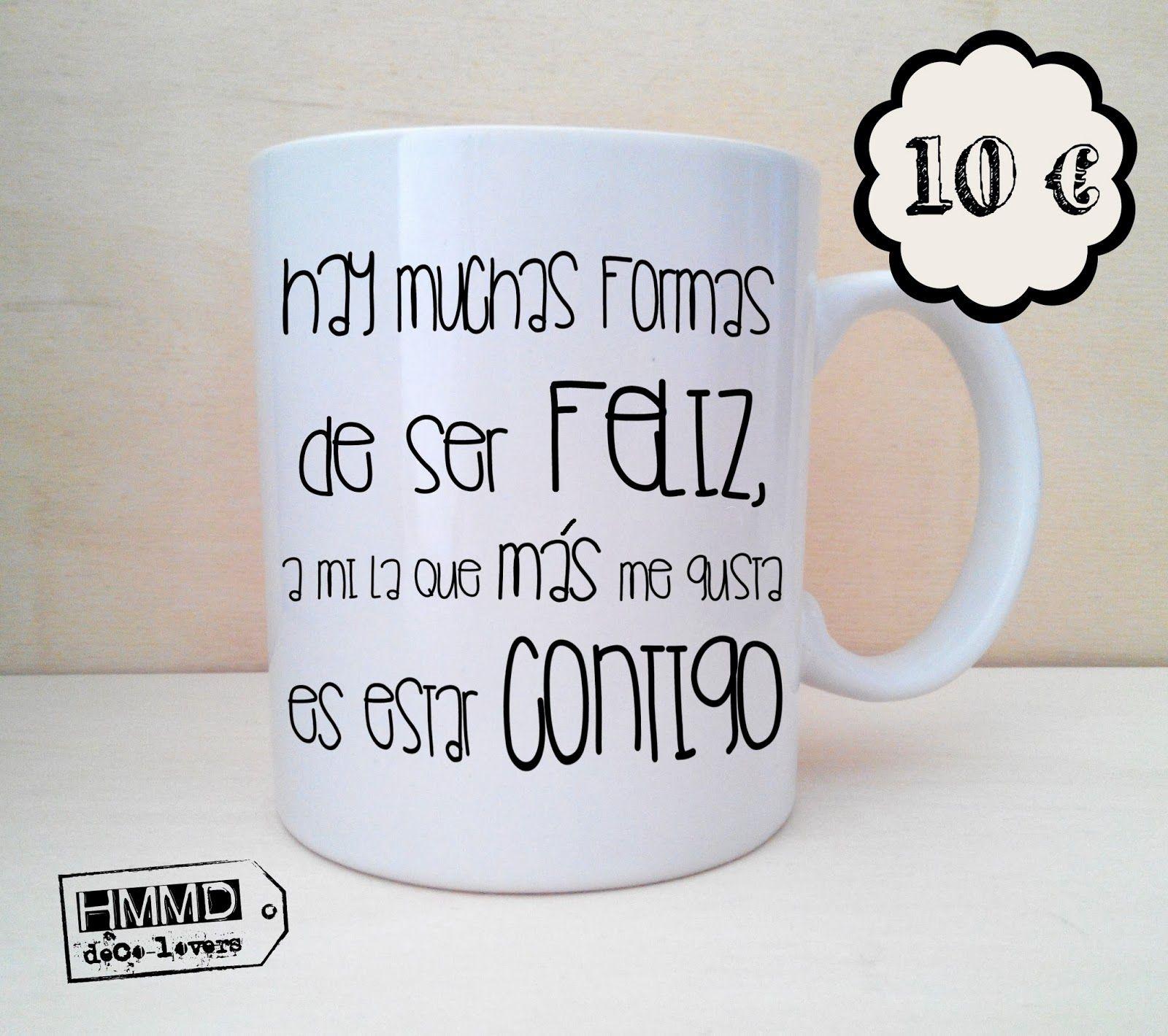 Colección De Tazas In Love In Love Mugs Collection
